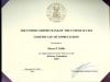 The Export-Import Bank of the United States Certificate of Appreciation