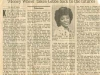 One of Karen\'s First Featured Articles in a Major Newspaper